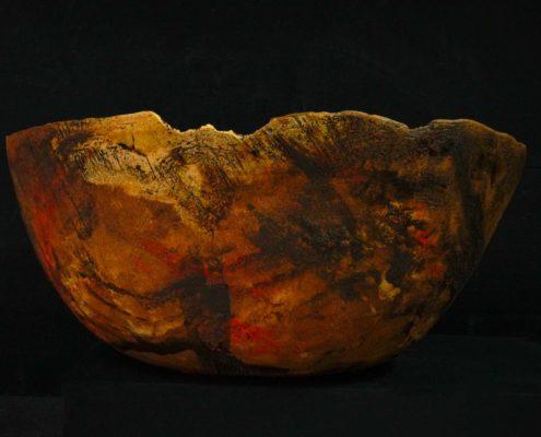 calebasse, création Elsa Dinerstein, ceramique contemporaine, pièce unique, fait-main, métier d'art, pièce d'exception, galerie d'art, décoration de luxe