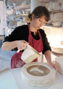 coulage de barbotine, procédé de fabrication ceramique, porcelaine