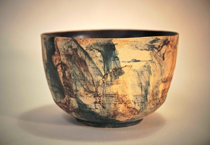 gres paint, création Elsa dinerstein, ceramique cotemporaine, objet d'