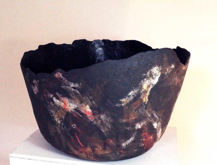 gres singulier, création Elsa Dinerstein, ceramique contemporaine, objet d'art, pièce unique, made in france, hand craft, ceramique d'art, ceramiste, metier d'art, savoir-faire