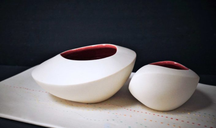 Ricochet, objets décoratifs, Design Elsa Dinerstein, métiers d'art contemporain, savoir-faire d'excellence, petite série, fait-main, délicatesse, innovation