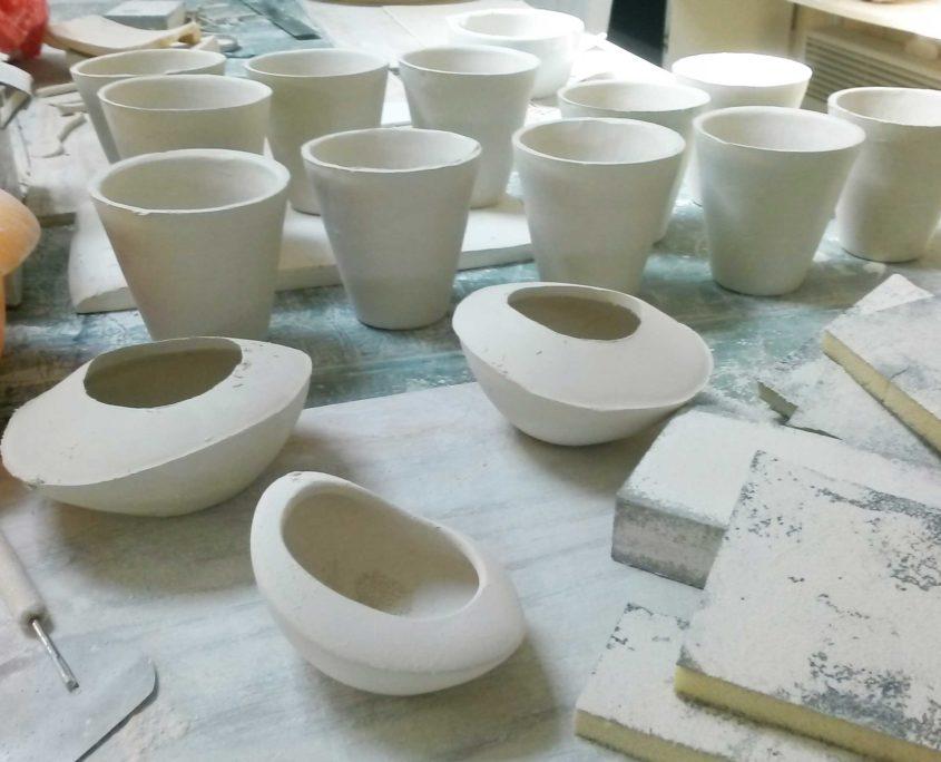savoir-faire, atelier elsa dinerstein, porcelaine, finitions, fait-main, hand-made, madein france, makers