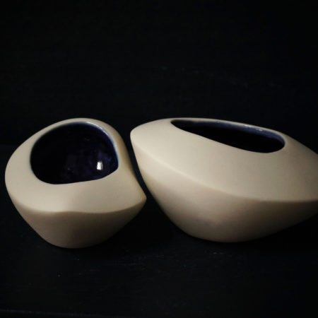 duo, design elsa dinerstein, craft, porcelaine, made in bassin d'arcachon, objet de créateur, décoration d'interieur